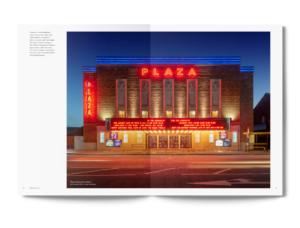 Regenda Group's Lister Garden Property Development Brochure Crosby Plaza Cinema Spread